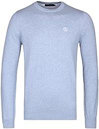 Henri Lloyd Burgundy Miller Regular Crew Neck Knitted Sweater