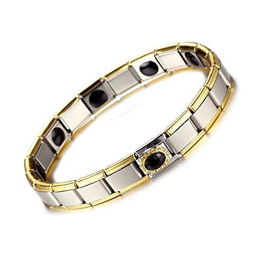MENGZHEN MEGNZHEN 1 STÜCK Magnetfeldtherapie Armbänder Magnetic Healing Kupfer Armbänder für Rheumatoide Arthritis Migräne und Schmerzlinderung - Rheumatoide Arthritis-entzündungen