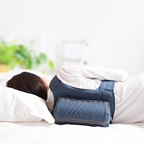 WoodyKnows Side Sleeping Rucksack Anti Snoring Verstellbares Kissen, Lösung  Für Zunge Schnarchen, Stop Schnarchen Verursacht Durch Liegen Auf Der  Rückseite, ...