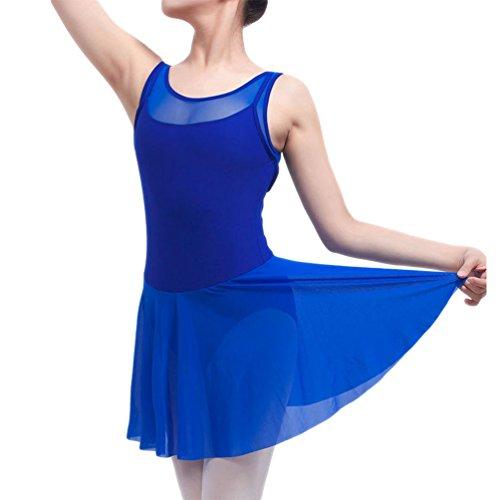 Ballett Rock Gymnastik Kostüm Ballettanzug Ballett Trikots (Schatz Bitte Erwachsene Frauen Kostüme)