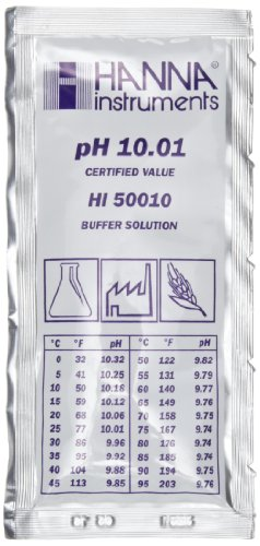 Pufferlösung pH 10,01, 10 Beutel à 20 ml, ±0,01pH, Analysezertifikat -