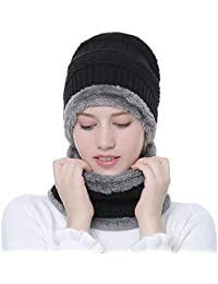 Yourig Warm Windproof Knitted Hat Winter Men Sports Skullies Beanies Neck Warmer