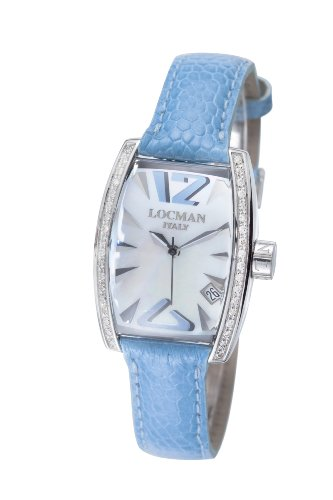 Locman Women'S 151Mopskd Panorama Collection Steel Watch