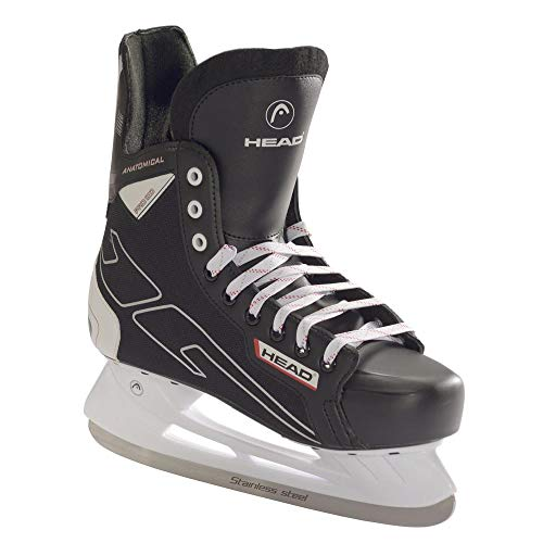 HEAD Eishockeyschlittschuh 100, Icehockey Skate, Gute Passform, Größe 43, Stabiler Eishockey Freizeit Schlittschuh
