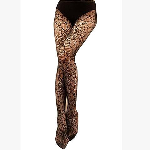 Ularma Mode Femmes NET Résille Bodystockings Modèle Bas-culottes Collants Bas W009