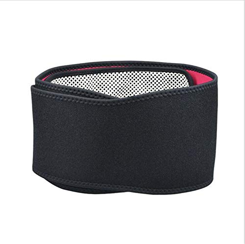 LY-JFSZ Rückenbandage,Selbsterwärmende Magnetgürtel Zur Schmerzlinderung Und Verletzung Prävention Rückenschmerzen Slip Disc, Unisex, Länge 123cm, Schwarz
