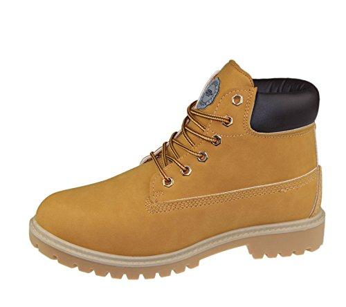Mens Boots Color Camel Size UK 8 EU 42 US 9