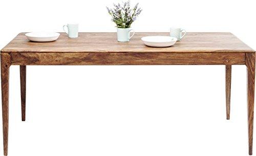 Kare Brooklyn Nature 200x100cm Tisch Holz Braun 100 x 200 x 76 cm