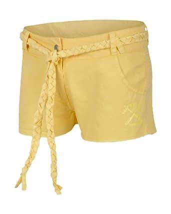 Bench - Shorts Parsonage Garden, Pantaloncini Donna, Giallo (hellgelb), X-Large (Taglia Produttore: XL)