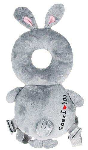 Eozy-cuscino per testa neonati poggiatesta resistenza caduta cuscino tappetto bambino imparare a camminare coniglio