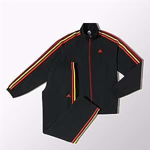 Adidas veste de survêtement essentials 3S woven m67792 black Noir Noir 6