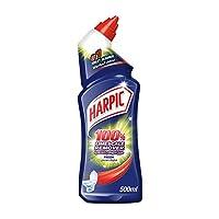 Harpic Toilet Cleaner Liquid Limescale Remover Fresh, 500ml