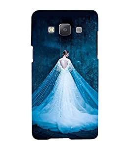 Girl with Shining white Dress Hard Polycarbonate Designer Back Case Cover for Samsung Galaxy A5 (2015) :: Samsung Galaxy A5 Duos (2015) :: Samsung Galaxy A5 A500F A500Fu A500M A500Y A500Yz A500F1/A500K/A500S A500Fq A500F/Ds A500G/Ds A500H/Ds A500M/Ds A5000