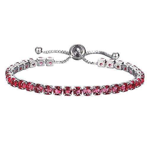 Frauen Strass Kristall Armband Einstellbar Mode Halskette Schmuck Mehrere Farben (G) - Wikinger Kleinkind-shirt
