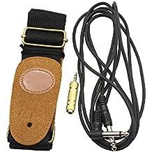 ammoon 3-in-1 Chitarra Ukulele Amp 2,6 m Cavo Audio Jack Converter 3.5mm Maschio 6,5 mm Femmina Cinturino Regolabile Stringed lo strumento Kit accessori