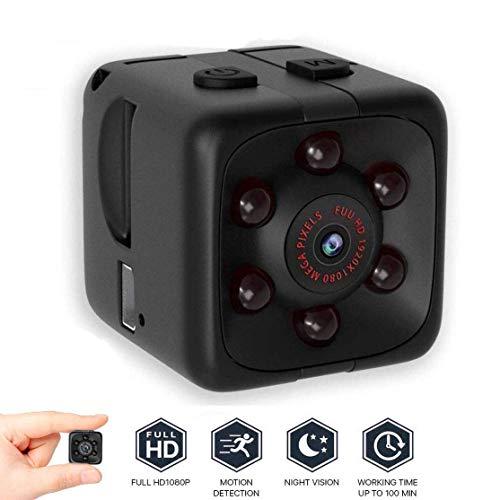 Mini Kamera,Full HD 1080P Tragbare Kleine Überwachungskamera, Mi...