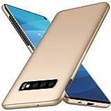 TopACE Hülle für Galaxy S10 Ultradünne Leichte Matte Handyhülle für Samsung S10,Einfache Stoßfeste Kratzfeste Ganzkörper Schutzhülle kompatibel mit Samsung Galaxy S10 (Gold)