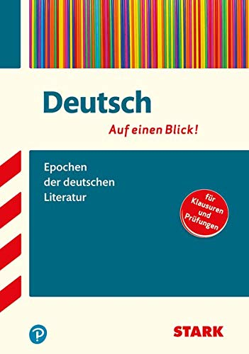 Buchseite und Rezensionen zu 'Deutsch - auf einen Blick! Epochen der deutschen Literatur' von Markus Hille