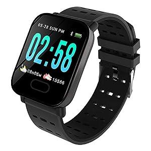 BZLine M20 Smartwatch Fitness Armband, Wasserdicht IP67 Smart Watch Uhr mit Pulsmesser Fitness Tracker Sport Uhr Fitness Uhr mit Schrittzähler,Schlaf-Monitor für Android und iOS