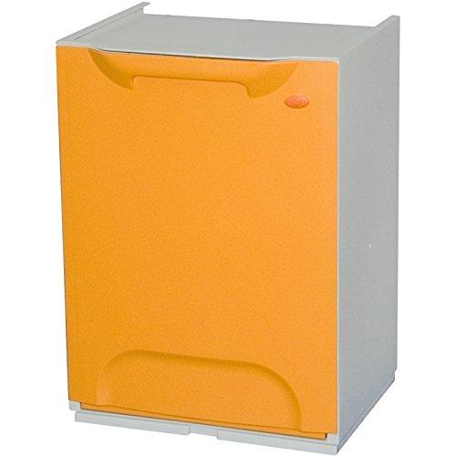 Art Plast R34/1G Mülleimer aus Kunststoff, stapelbar