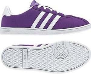Adidas  Adidas Vlneo Court, Baskets mode pour fille Violet violet 38.5 (5 UK)