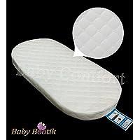 Colchón de espuma suave para bebé de 64 x 28 x 4 cm con cubierta de