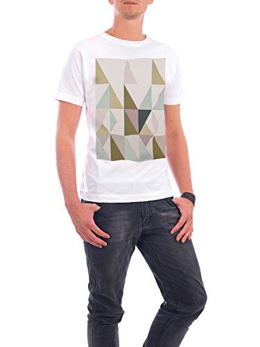 """Design T-Shirt Männer Continental Cotton """"The Nordic Way XXV"""" - stylisches Shirt Abstrakt Geometrie von Pascal Deckarm Weiß"""