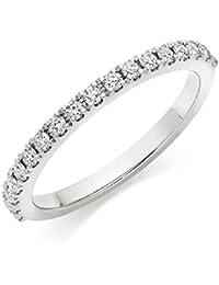 Asset Jewels Silver Real Diamond Ring For Girls/ Women - B078LWPL6K