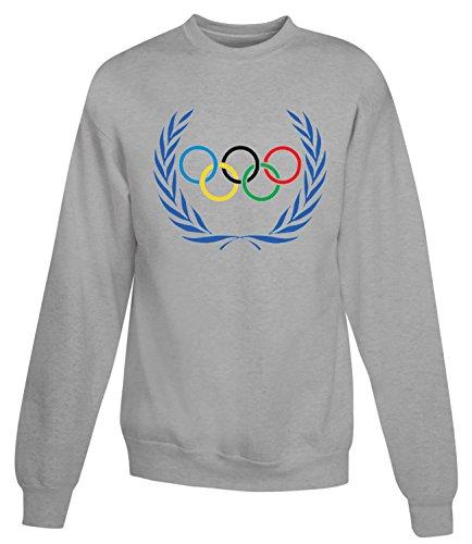 Billion Group | Rio Logo | Olympic Games Series | Women's Unisex Sweatshirt Gris
