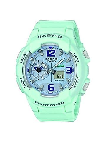 Casio Baby-G - Damen-Armbanduhr mit Analog/Digital-Display und Resin-Armband - BGA-230SC-3BER