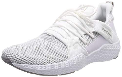 bugatti Herren 341730626900 Slip On Sneaker, Weiß, 42 EU