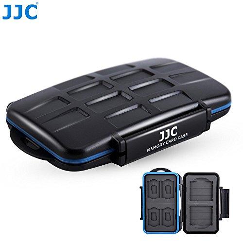 Card Memory Sd Jjc (JJC Multi Memory Card Case MC-STC10 Speicherkarten Schutzbox für 4 x SD, 4 x Micro SD/TF und 2 x CF Cards - extreme Wasserdicht und Stoßfest Box Safe Tasche Etui Aufbewahrungsbox Hülle)