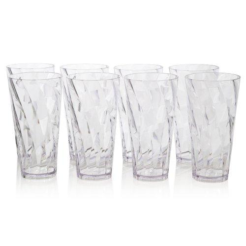 optix-sensore-infrangibile-in-plastica-20-g-bicchiere-acqua-set-da-8-colore-trasparente