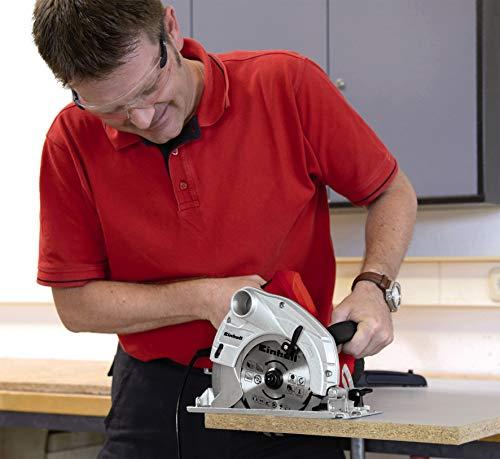 Einhell Handkreissäge TC-CS 1400 (1400 W, max. 66 mm, Sägeblatt Ø 190, 24 Zähne, Softstart, Parallelanschlag) - 4