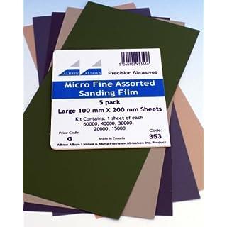 Albion Alloys Micro Fine Assorted Sanding Film # 353