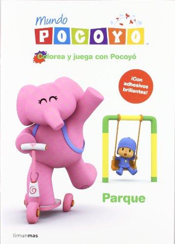Colorea y juega con Pocoyo. Parque (Cuentos y actividades)