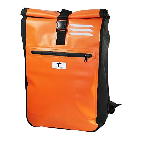 Red Loon Kurier Rucksack Courier Bag Kuriertasche LKW-Plane Backpack Kurierrucksack orange