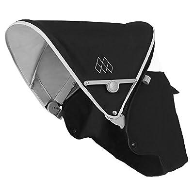 Maclaren Recambio de capota para sillita Quest 2016-2017 en color negro/gris, montaje fácil