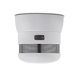 Elro Cavius by Elro Mini-Design 10-Jahres Rauchmelder / Rauchwarnmelder geprüft nach DIN EN 14604 mit festeingebauter Batterie, 2002-023
