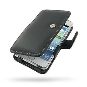 Samsung Galaxy SII S2 Plus Leather Case -GT-i9105P: Amazon.fr: High-tech