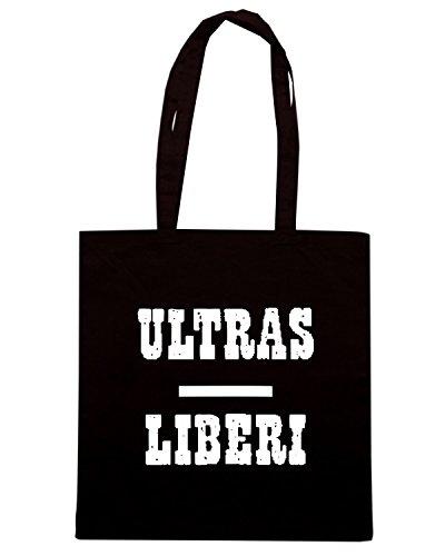 T-Shirtshock - Borsa Shopping TUM0213 ultras liberi hooligans Nero