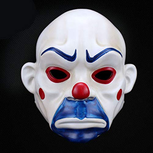 ske Halloween Batman Clown Robber Maske ()