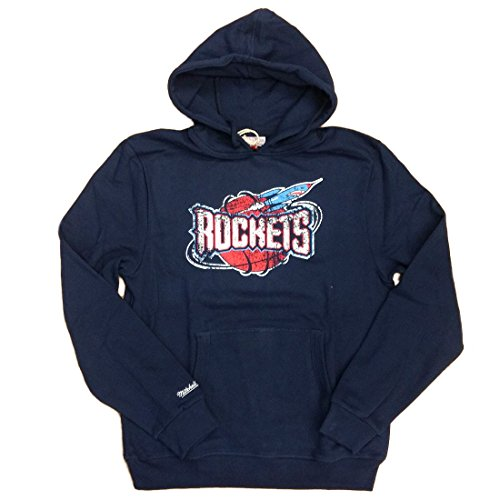Mitchell & Ness Hoody Houston Rockets Distressed Team Arch Navy