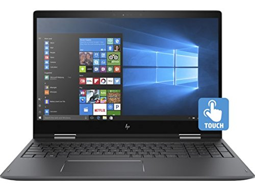 HP Envy x360 15z Convertible 2-in-1 Laptop: AMD Ryzen 5 2500U, 8GB RAM, 15.6-inch Full HD Touch Display, RX Vega 8 Graphics, 1TB Hard Drive