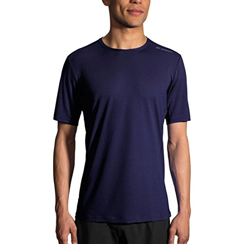 Preisvergleich Produktbild Brooks Men's Ghost Short Sleeve Navy Large