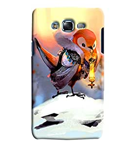 Meraki Silicone Soft Printed Back Cover For Samsung Galaxy J7