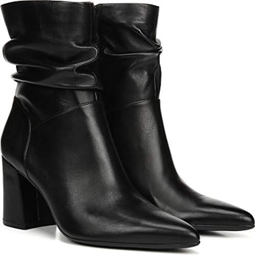 Naturalizer Frauen Hollace Spitzenschuhe Leder Fashion Stiefel Schwarz Groesse 8.5 US /39.5 EU -