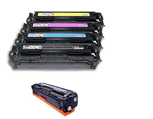 CRG131 KIT 5 toner compatibili per CANON I-Sensys LBP-7100cn, LBP-7110cw,