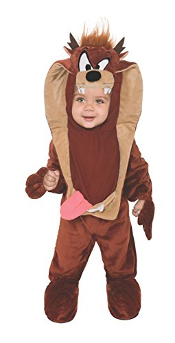 Looney Tunes Tasmanischer Teufel Taz Baby Kostüm Anzug - Kindergröße: - Taz Looney Tunes Kostüm