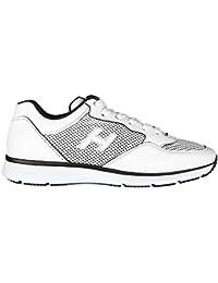 Hogan zapatos zapatillas de deporte hombres en piel nuevo new interactive h flock beige EU 40 HXM00N0Q102FJ6637M 6FPHN